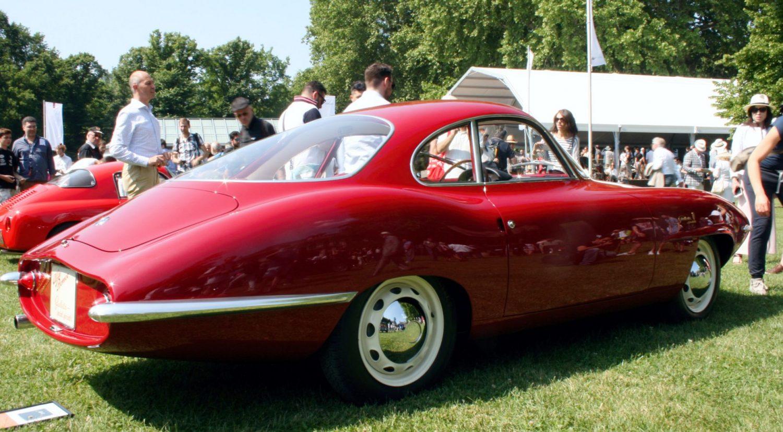 "BEST OF SHOW"" Alfa Romeo Giulietta SS Prototipo 1957 Ged design"