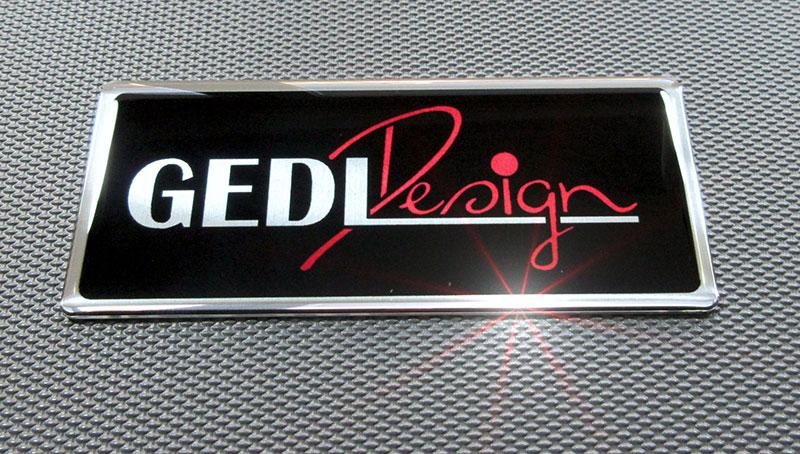3D nalepke Ged line