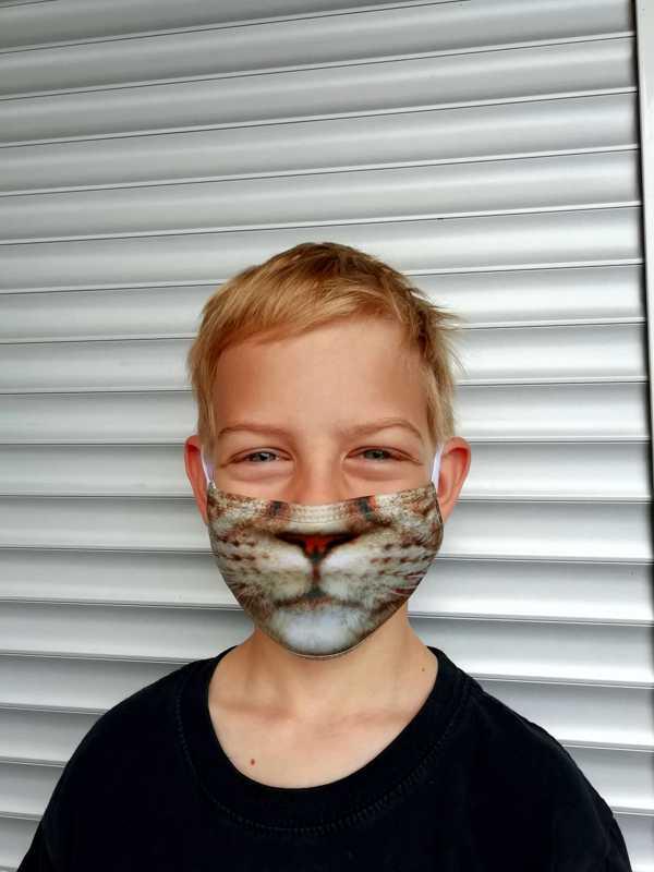 tisk na zaščitne maske